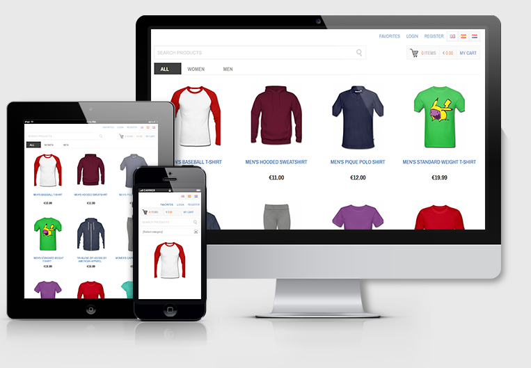 Online Shop Website Solution