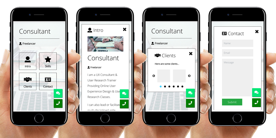 Pro Consultant Website Solution
